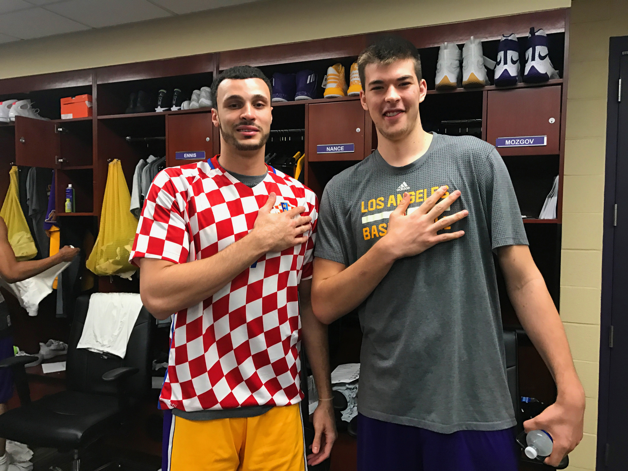 EXCLUSIVE Lakers Larry Nance Jr Made Honorary Croatian