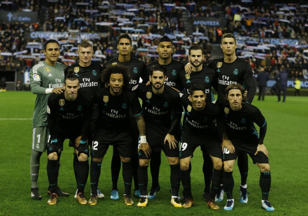 CELTA 17/18 REAL MADRID 17/18