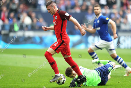 FC Schalke 04 vs Eintracht Frankfurt, Gelsenkirchen, Germany - 06 Apr 2019
