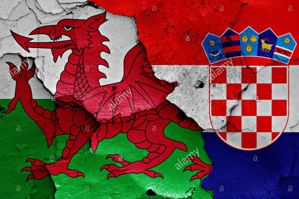 flags-of-wales-and-croatia-painted-on-cracked-wall-G950CG